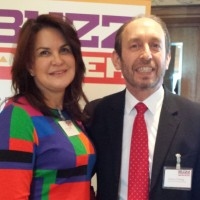 Jackie Osborne and Anthony Fleming - BuzzPower launch!