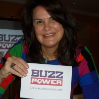 Jackie Osborne launching BuzzPower.