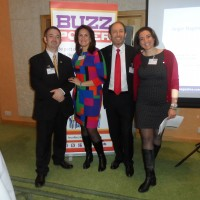 Nigel, Jackie, Anthony and Angie at BuzzPower.